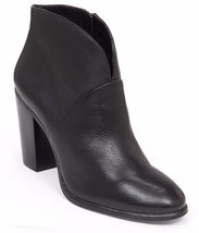 Women Vince Camuto Franell Leather Booties, Sizes 6-10 Black Leather VC-... - $109.95
