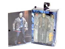 "NECA Freddy Vs Jason Ultimate Jason Voorhees 7"" Action Figure Friday the... - $38.54"