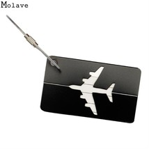 Luggage Tags Name Address Id Label Card Suitcase Labels Mini Travel Acce... - $7.99