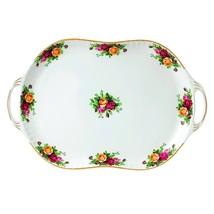 "Royal Albert Old Country Roses Handled Serving Platter, 19"" TURKEY PLATT... - $148.49"