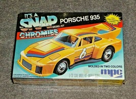 MPC 1/32 It's A Snap Chromies Plastic Model Kit Porsche 935 Molded In 2 ... - $19.00