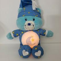 "Care Bears Talking Bedtime Bear Light Up Musical Singing Lullaby 13"" 2002 RARE - $48.37"