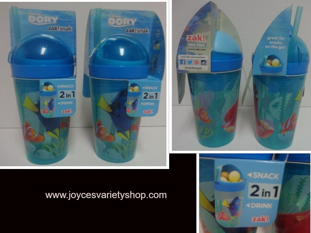 Dory snack cup web collage