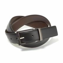 Calvin Klein Men's Premium Reversible 35MM Leather Belt 7365696 BBR (32)