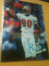 1998 Jerry Rice, Fleer Football Card In Plastic Sleeve - $3.99