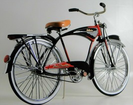 Schwinn Vintage Bicycle Rare 1950s Bike Cycle Metal Model >>>Length: 11.... - $249.00