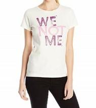 Medium 8-10 Life is Good Women's Creamy Tee We Not Me T-Shirt Shirt NEW