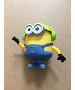 McDonalds Happy Meal Despicable Me 3 #3 Minion Toy 2017 Groovin Headphon... - $9.89