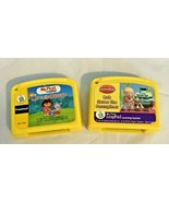 """Leap Frog """"My First Leap Pad"""" Game Cartridges Lot Of 2 Cartridges - $6.88"""