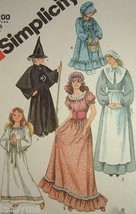 Pilgrim Prairie Angel Costumes Simplicity Sewing Pattern 5741 Sizes 10-1... - $8.35
