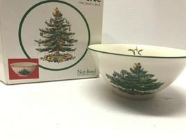 "SPODE 5.5"" Porcelain Christmas Tree NUT BOWL - $19.80"
