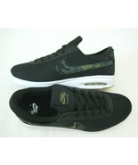 Nike Mens SB Air Max Bruin Vapor TXT Black Camo Skate Shoes Size 10 AA42... - $79.19