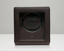 WOLF 1.8 Single Cub Watch Winder with Glass Cover Brown 461106 Free US Shipping - $189.00