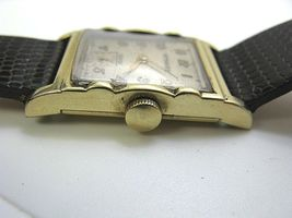 WITTNAUER LONGINE VINTAGE WATCH REVUE 1950'S 10K GF serviced image 4