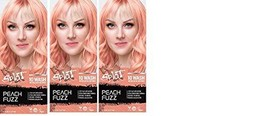 Splat 1 Wash Temporary Hair Dye, Peach Fuzz(10 Wash pack of 3) - $24.99