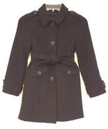 GAP KIDS RN 54023 – Girl's Black Wool Blend Peacoat - Size: MED 8-9 Years - $36.98