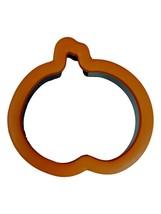 Halloween Comfort Grip Pumpkin Cookie Cutter Wilton Plastic - $2.69