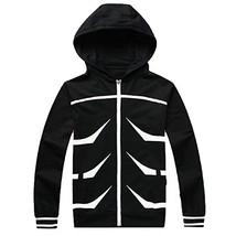 Tokyo Ghoul Kaneki Ken Zip Hoodie Cotton Casual Sweatshirt Cosplay Costume - $59.99