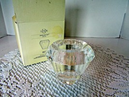 """LENOX CRYSTAL JEWELED ICE VOTIVE CANDLE HOLDER 2.75""""H NEW IN BOX  - $18.76"""