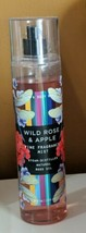 Bath &  Body Works Wild Rose & Apple Fine Fragrance Mist 8oz. Rare - $28.45
