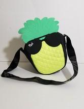Victorias Secret PINK Mini  Cooler Bag Pineapple Sunglasses Lunch Box Black - $27.72
