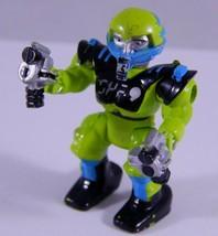 "Z-Bots 1992 ZIDOR Voids 2"" Action Figure Galoob Micro Machines 90's Toy - $7.83"