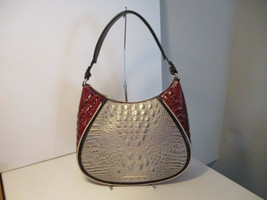 Authentic Brahmin Amira Hemlock Westwood Shoulder Bag Embossed Leather NWT - $237.59