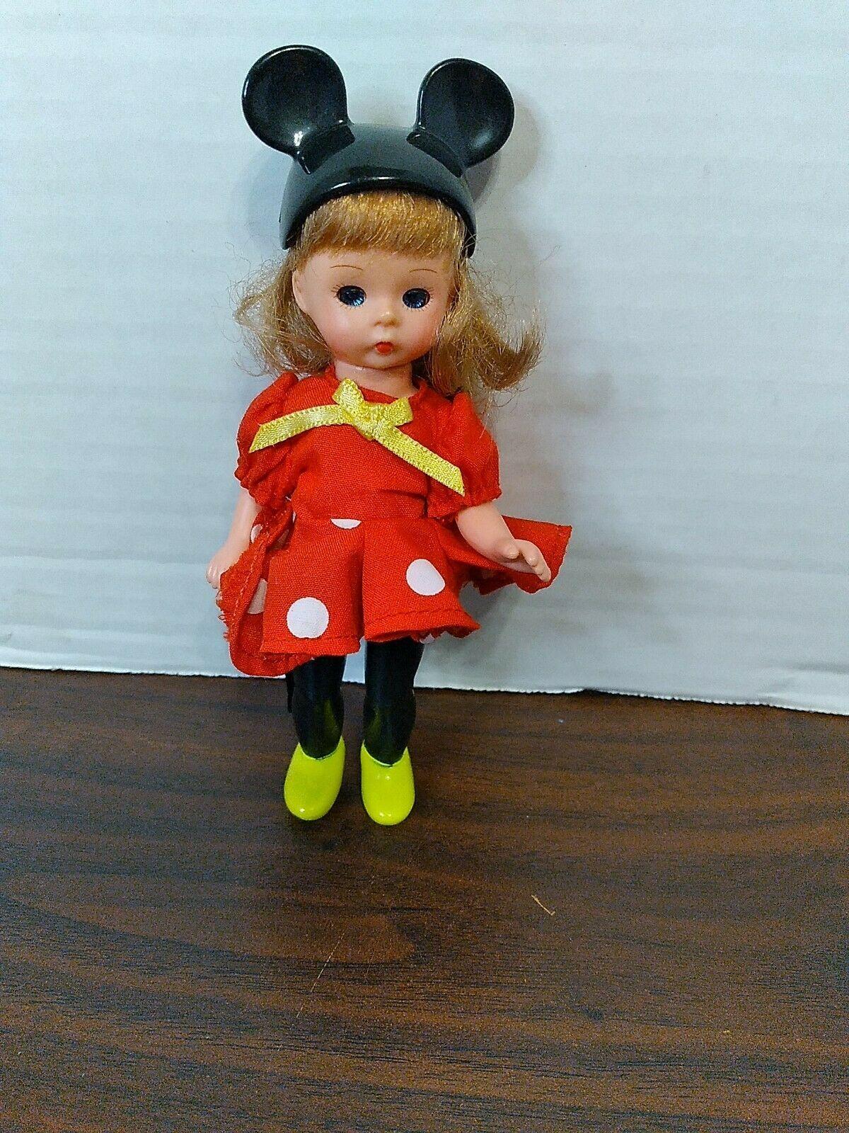 Alexander Doll Company Minnie Mouse Doll Disney Mickey Mouse MIni Baby Doll - $4.06