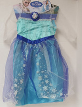 Disney Frozen Princess Elsa Girls Dress 4-6X authentic Elsa Dress-up Cos... - $24.99