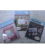 4 Camper Camping Glamping Sewing Craft Patterns This & That Pillow Pouch... - $9.99