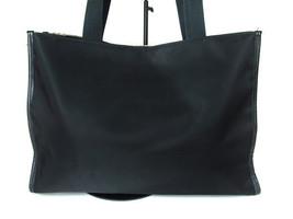 Auth BURBERRY LONDON Black Nylon Canvas Tote Bag, Shoulder Bag BT0214 - $159.00