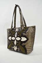NWT Brahmin Medium Asher Tote/Shoulder Bag in Elmwood Palazzo Multi-Texture - $339.00