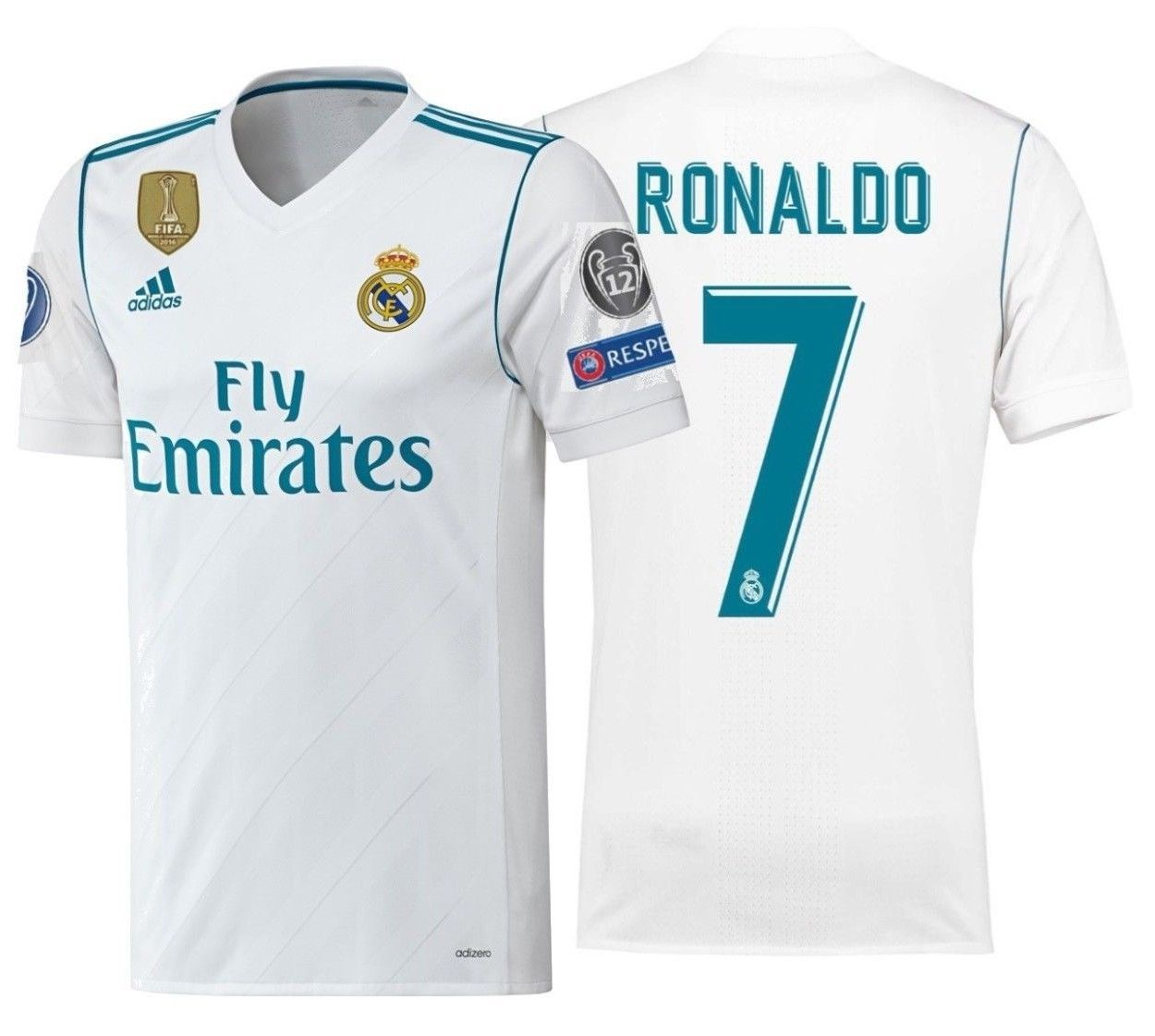 688cd6228 Adidas C. Ronaldo Real Madrid Adizero Home and 50 similar items