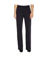 Liz Claiborne Audra Classic Fit Straight Leg Trousers Pants Navy Sz 6 S - $25.53