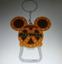 Disney Epcot Germany Pavilion Mickey Pretzel Keychain/bottle Opener - $24.74