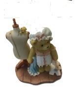 CHERISHED TEDDIES - SARAH THE BEAR SEAMSTRESS REG. NO. 8E31222 - $22.37