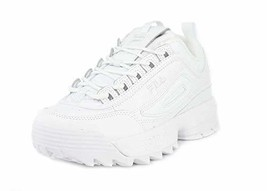 Fila Women's Disruption II Premium Sneakers White / White / White 8.5 - $95.11