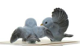 Hagen Renaker Miniature Bluebird Family Ceramic Figurine Set of 3 image 5