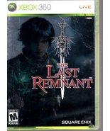 XBox 360 - The Last Reminant - $15.95