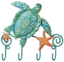 Sea Turtle Key Hook Regal Art Gift Metal Decor ... - $16.77