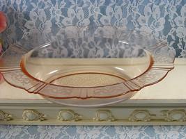 Vintage American Sweetheart Pink Oval Serving or Vegetable Bowl Depressi... - $44.99