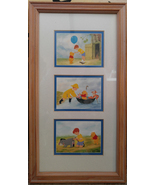 Disney Winnie the Pooh 100 Acre Wood Series Triple-Framed and Matted Prints - $15.99