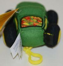 John Deere LP64417 Plush Toy Gator With Plastic Attachment Clip image 3