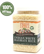 Pride Of India - Extra Long Indian Basmati Rice, Naturally Aged Aromatic... - $17.14