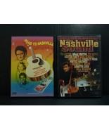 Lot of 2 DVDs The Nashville Sound and Road to Nashville  - $23.65