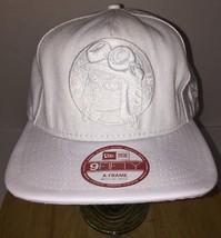 Soles Inc. New Era 9Fifty A-Frame All White Hat Cap Snapback Medium-Large Rare - $37.55