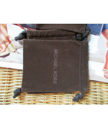 Michael Kors Drawstring Brown Jewelry Bag NEW - $9.90