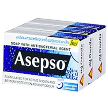 ASapSoa Soap Sport (80g / Pack 3) - $22.00