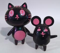 Baketan Pink Metallic Cat and Mouse Set RARE and LIMITED Set image 1