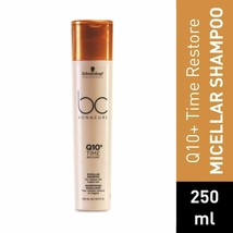 Schwarzkopf Professional Bc Q10 Time Restore Shampoo, Gold, 250 ml (free... - $33.77